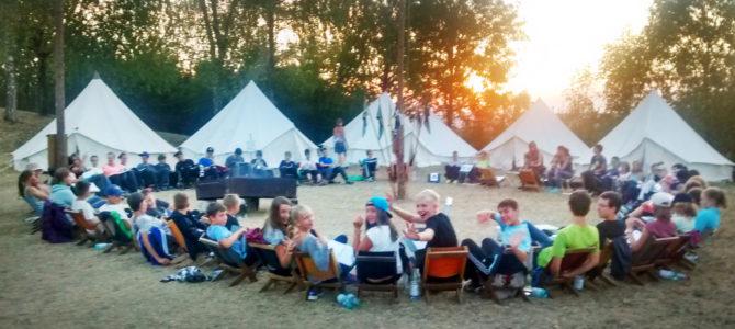 Zeltlager der EmK Marbach 2017