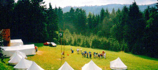 60 Jahre Zeltlager auf dem Bezirk Marbach