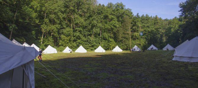 Das Zeltlager der EmK Marbach ist wohlauf!