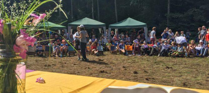Über 200 Kinder, Eltern und Gäste waren mit dabei!