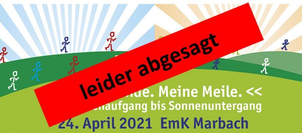 Marbacher Meile auf 2022 verschoben