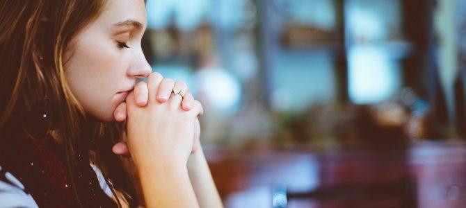 Sich zum Gebet erheben?! Gottesdienst am 10.10.21 auch als stream